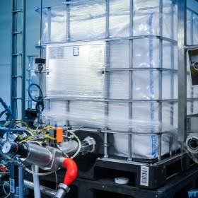Totes IBC asépticos de plástico fabricados por Recoenvases en México