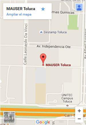 Planta principal de fabricacion de Totes (IBC's) de Mauser en Toluca, México
