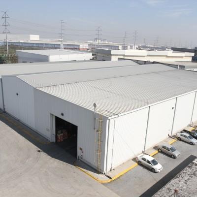 Instalaciones de la planta Recoenvases en Apodaca cerca de Monterrey