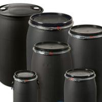 Logística, transporte y recolección de Tambos de plástico de 200 litros por MAUSER/NCG