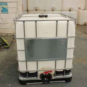 IBC (tote) de 1000 litros reacondicionado en nuestra planta de Queretaro