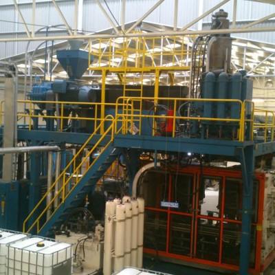 Instalaciones interiores de la planta MAUSER en Toluca