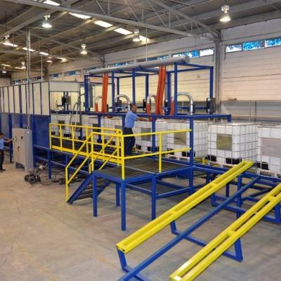 Instalaciones de la planta Recoenvases en Querétaro